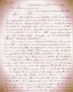 Letter-SarahHaletoLincoln