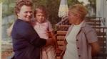 Me Grandma Hedwig, Mom, and me