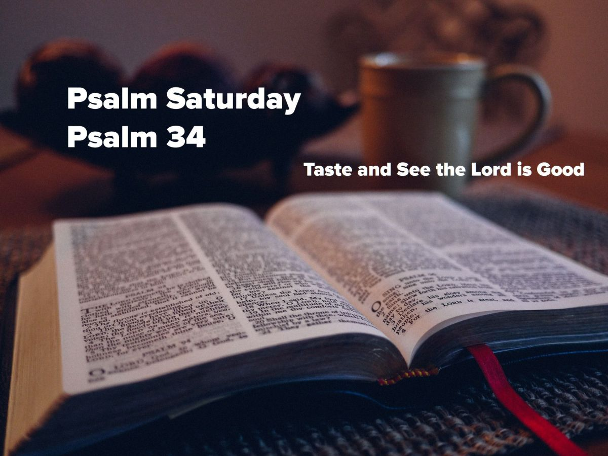 Taste and See the Lord is Good!