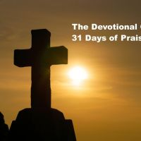 31 Days of Praise | Day 27 The Lifter of My Head