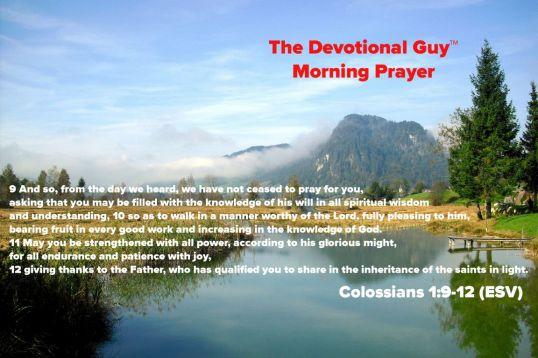 Colossians Morning Prayer
