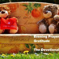 Evening Prayer 15 | Gratitude