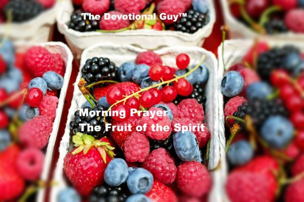 Fruit of Spirit Title Slide