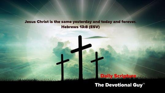 Hebrews 13_8