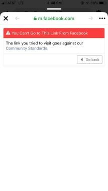 Facebook Message B