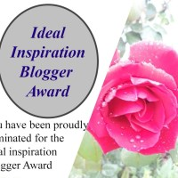 The Ideal Inspiration Blogger Award